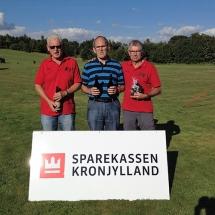 7 Poul Erik løb med sejren, Ove blev nr. 2 og Børge nr. 3